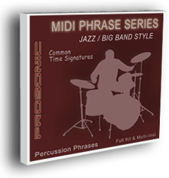 MIDI Phrase Series - Jazz & Big Band STYLE