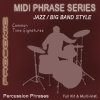 Jazz & Big Band Drum Beats Simple Time Signatures