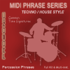 Techno & House Drum Beats Simple Time Signatures