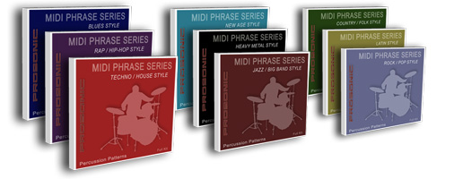 Royalty Free Midi Drum Patterns