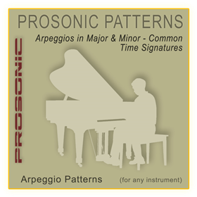 MIDI Arpeggio Series - All STYLE