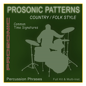 MIDI Phrase Series - Country & Folk STYLE