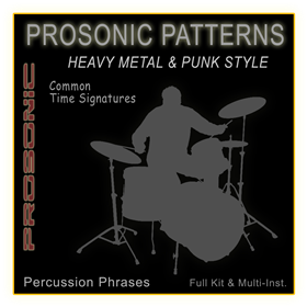 MIDI Phrase Series - Heavy Metal & Punk STYLE