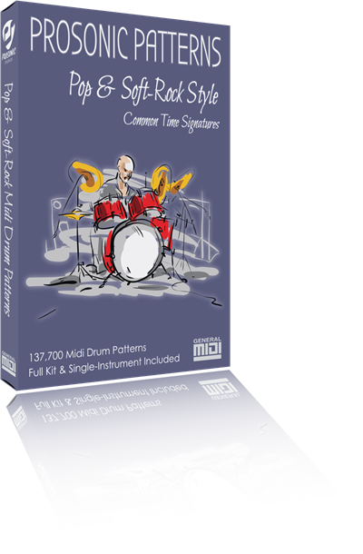 Pop & Soft-Rock Drum Patterns
