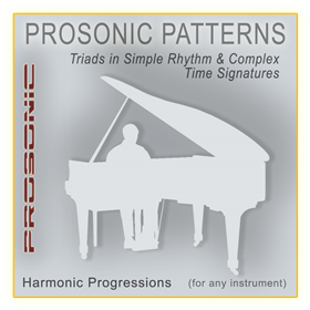 Midi Chord Progressions - Triads in Simple Rhythm & Complex Time Signatures Style