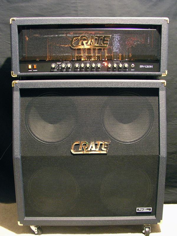 crate blue voodoo half stack bv120h matching cabinet bv412sv in blue sold. Black Bedroom Furniture Sets. Home Design Ideas