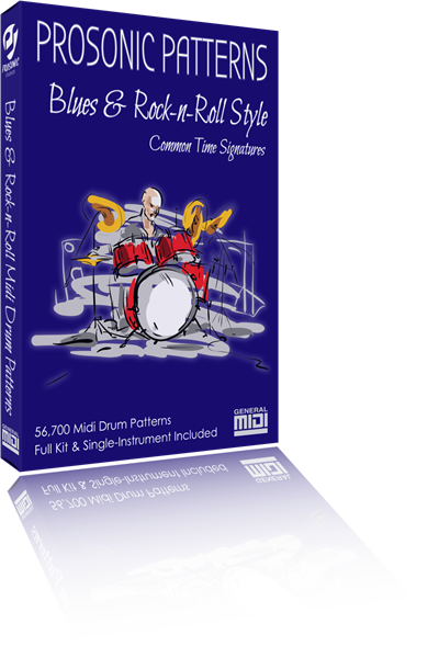 Blues & Rock-n-Roll Drum Patterns