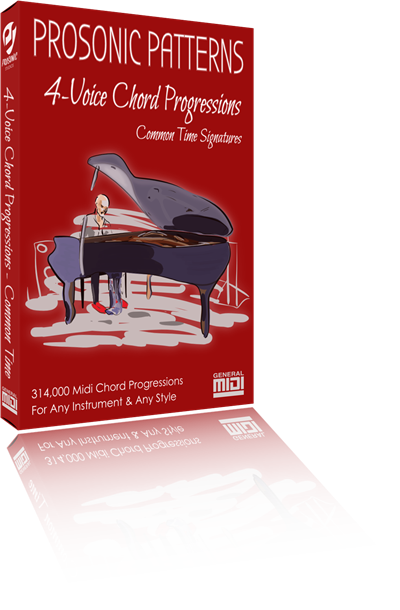 Chord Progressions: 4-Voices in Simple Rhythm & Common Time Signatures